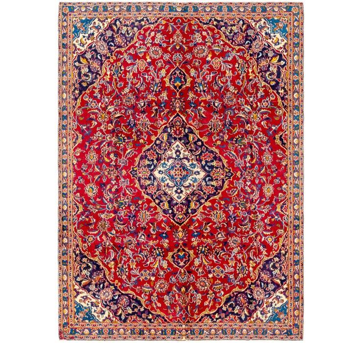 6' 9 x 9' 10 Kashan Persian Rug