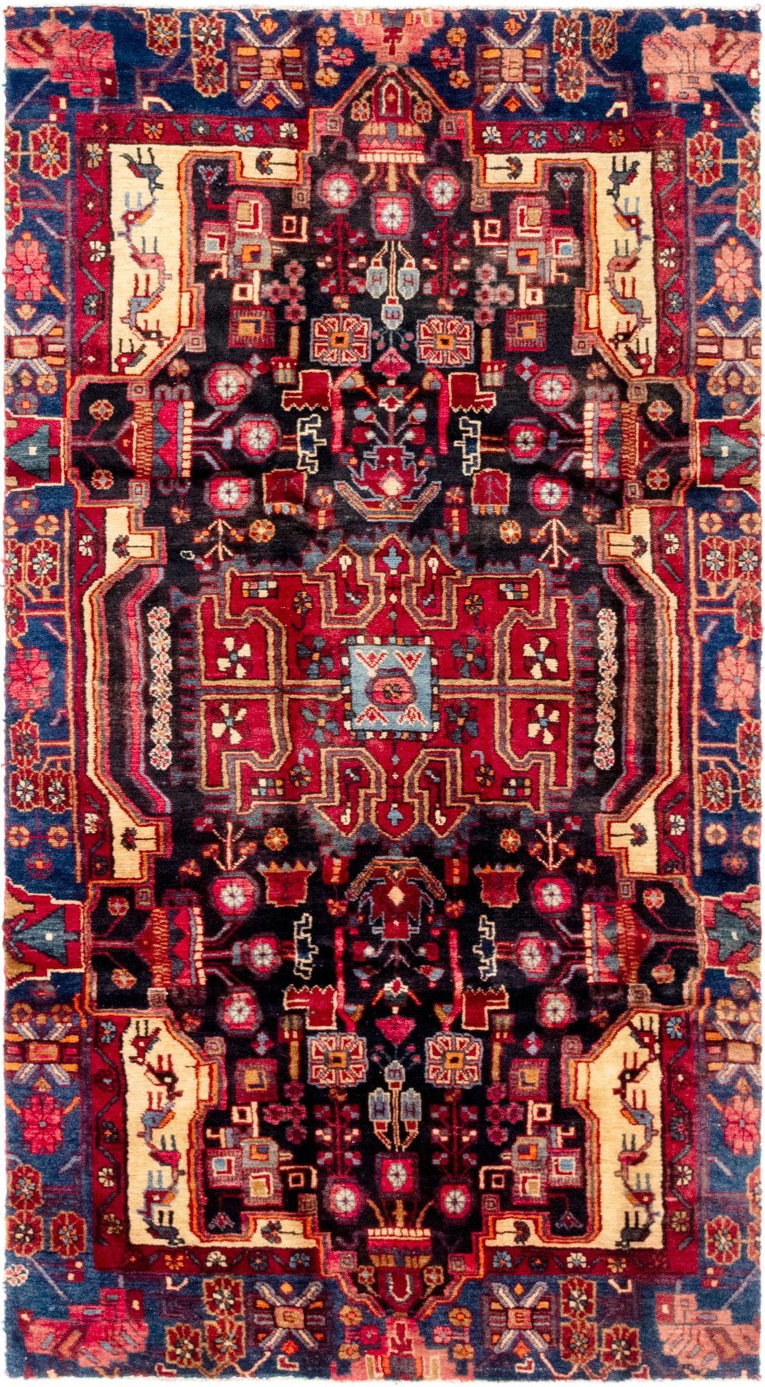 4' x 7' 6 Nahavand Persian Rug main image