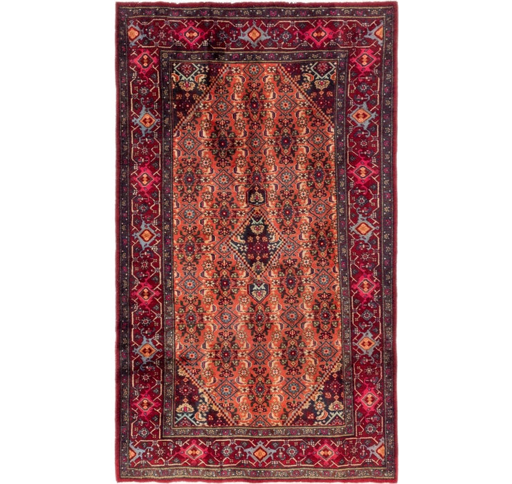 122cm x 213cm Gholtogh Persian Rug