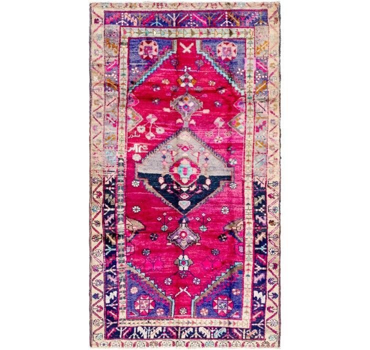 122cm x 213cm Hamedan Persian Rug