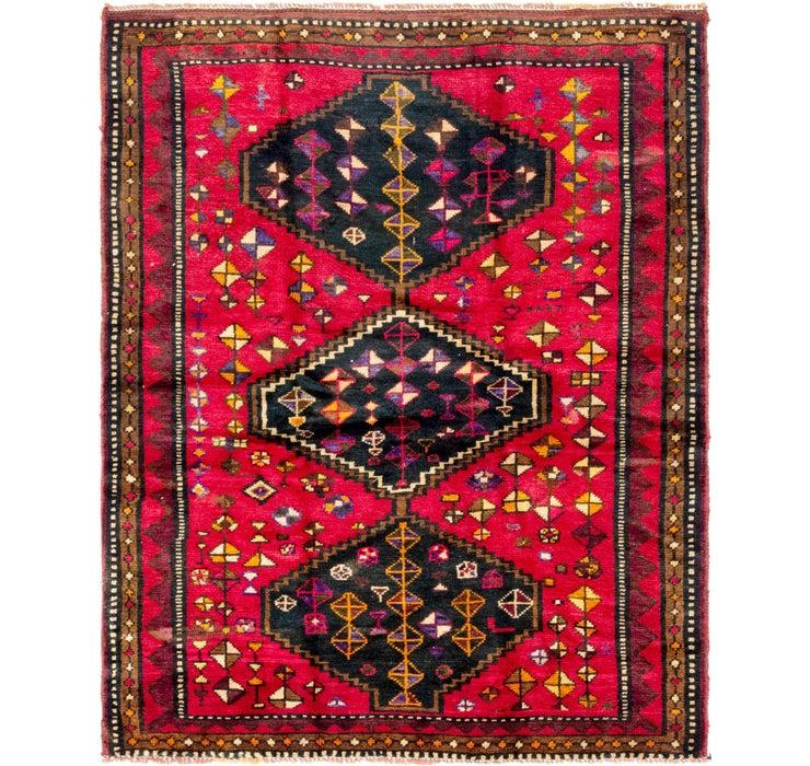 152cm x 190cm Shiraz Persian Rug