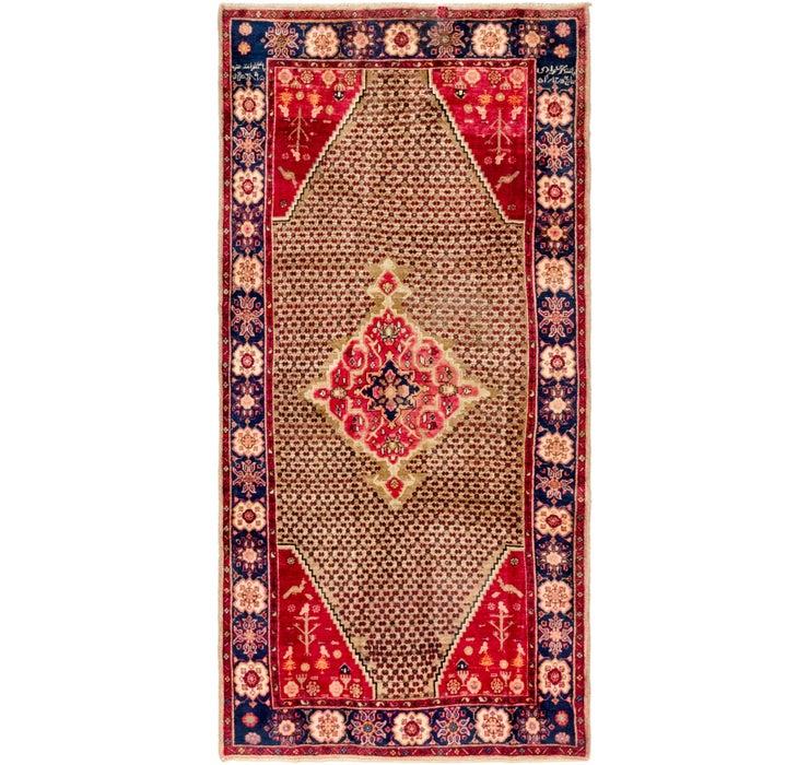 4' 2 x 8' 10 Koliaei Persian Rug