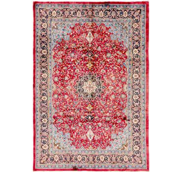 7' x 10' 3 Sharough Persian Rug