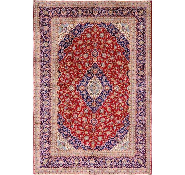 300cm x 437cm Kashan Persian Rug