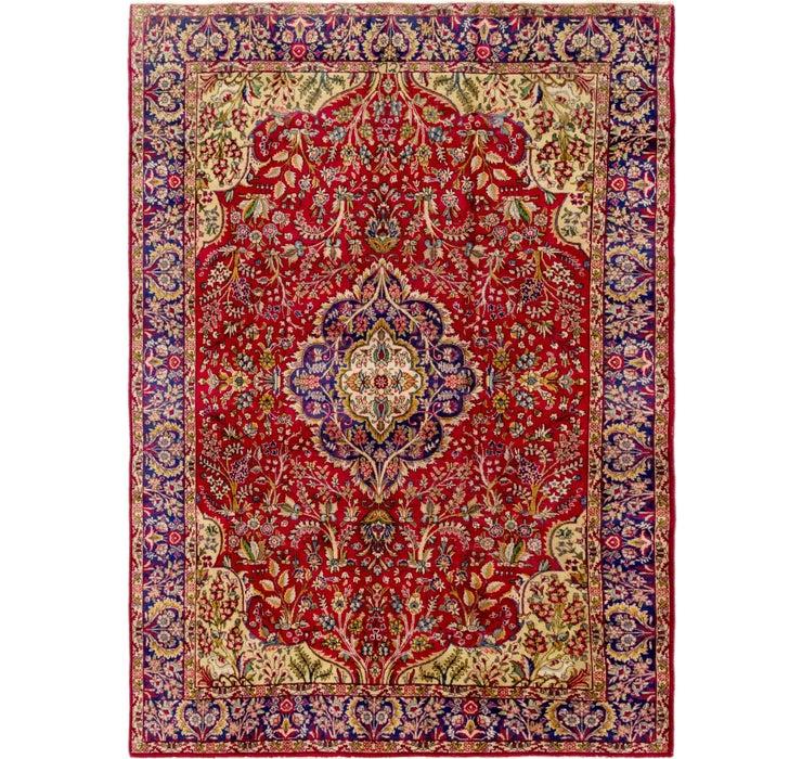 7' 4 x 10' 4 Tabriz Persian Rug