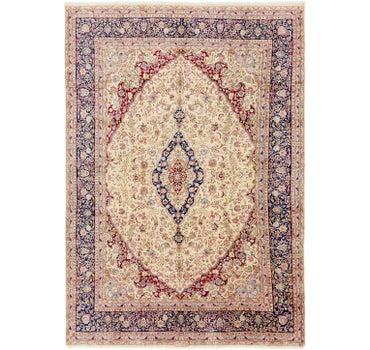 Image of 9' 10 x 14' 3 Kerman Persian Rug