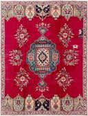 7' 9 x 10' 4 Tabriz Persian Rug thumbnail
