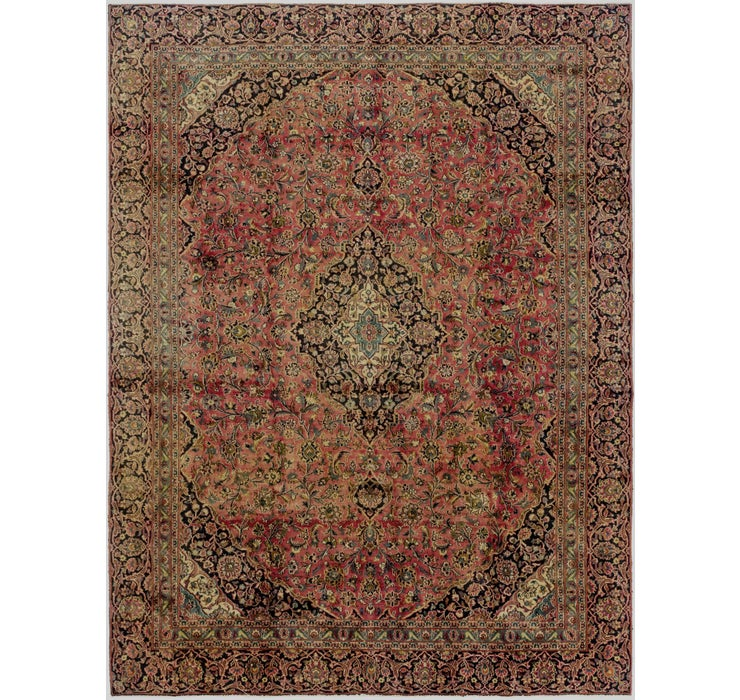 8' 6 x 11' 3 Mashad Persian Rug