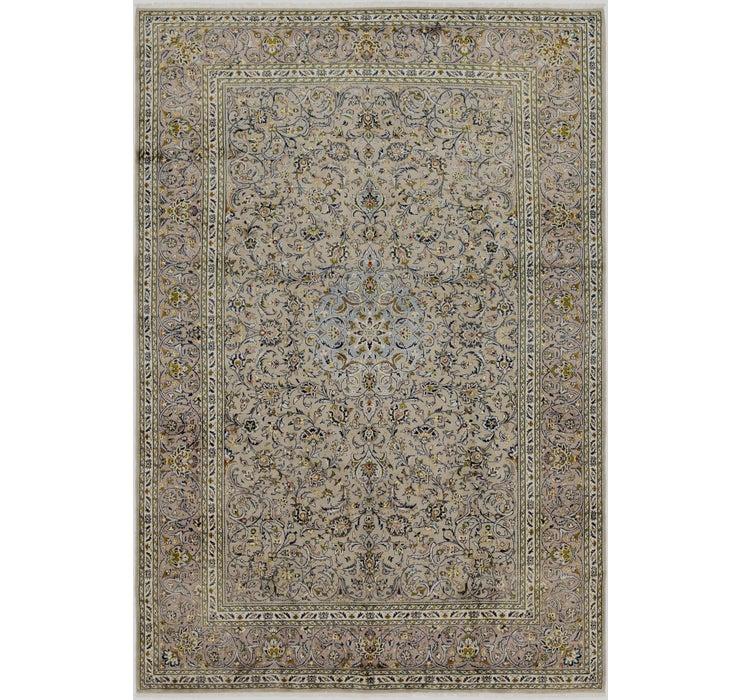 Image of 245cm x 360cm Kashan Persian Rug