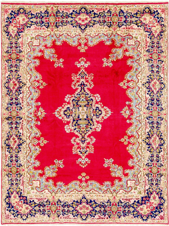 9' 8 x 13' Kerman Persian Rug main image