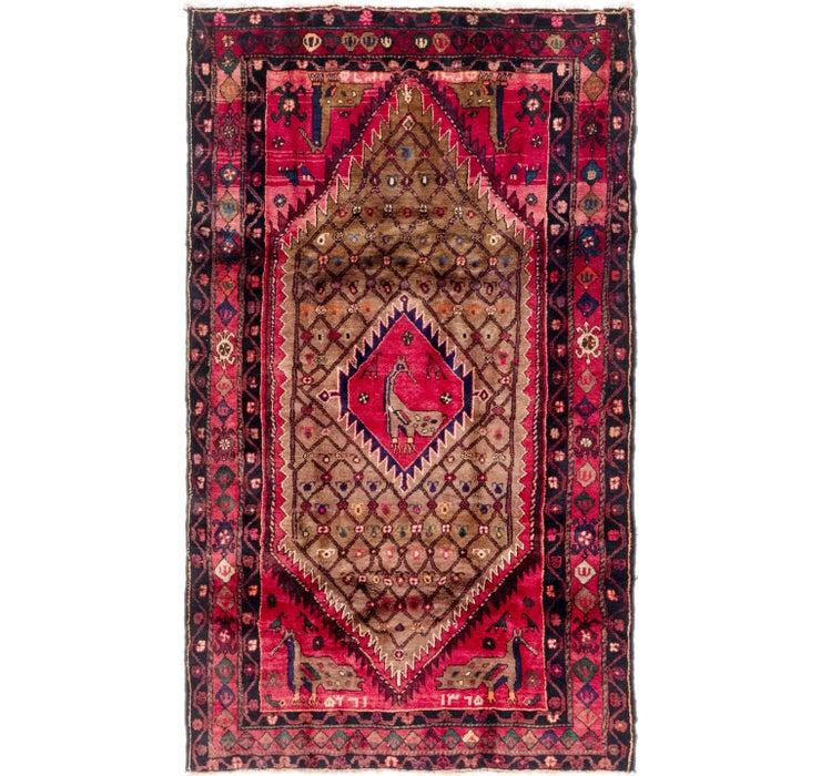 4' 9 x 8' 2 Koliaei Persian Rug