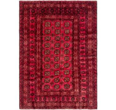 6' 8 x 9' 3 Torkaman Persian Rug main image