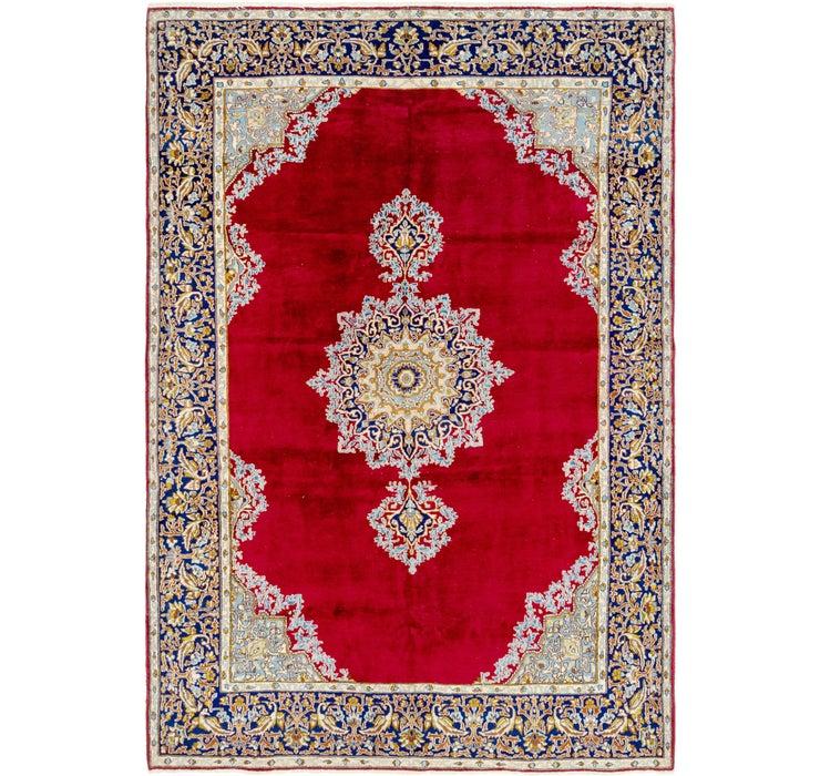 208cm x 305cm Kerman Persian Rug
