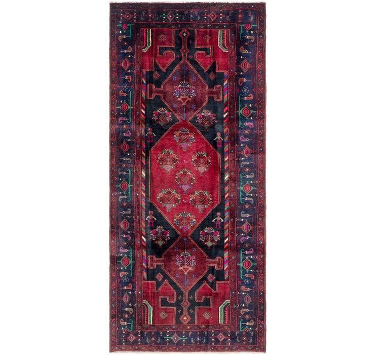 4' 4 x 10' Sirjan Persian Runner Rug