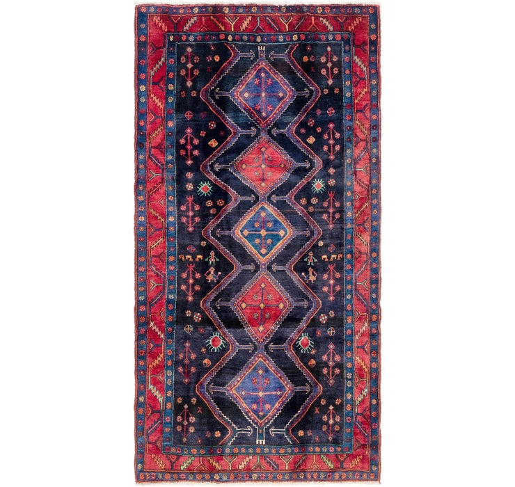Image of 152cm x 300cm Gholtogh Persian Runner...