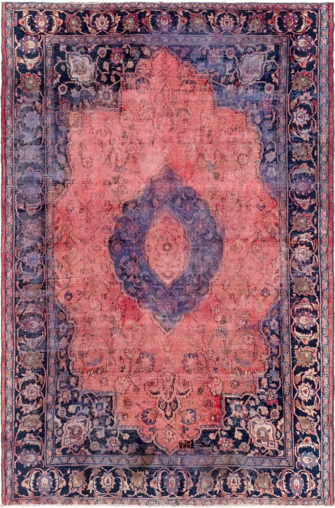 7' x 10' 9 Mashad Persian Rug main image