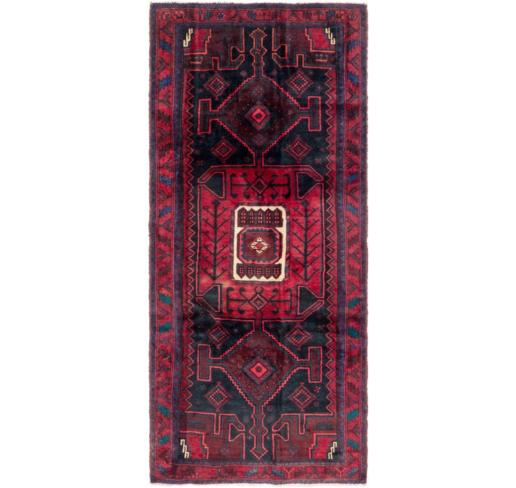 Image of 4' 3 x 10' Gholtogh Persian Runner...