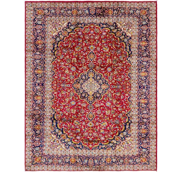 312cm x 405cm Kashan Persian Rug
