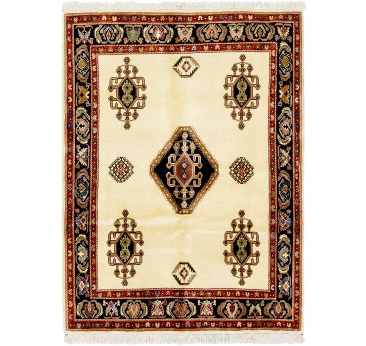 3' 8 x 5' 2 Shiraz Persian Rug