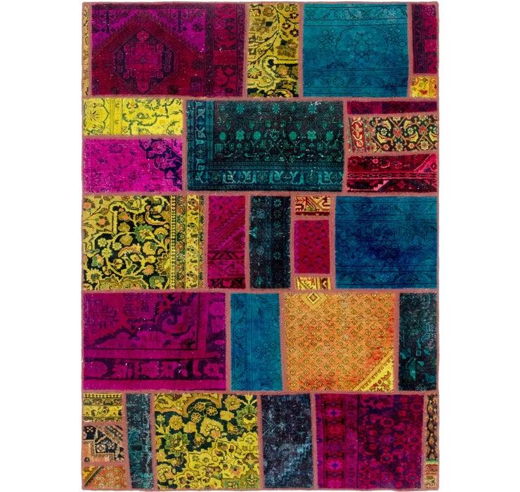 168cm x 245cm Ultra Vintage Persian Rug