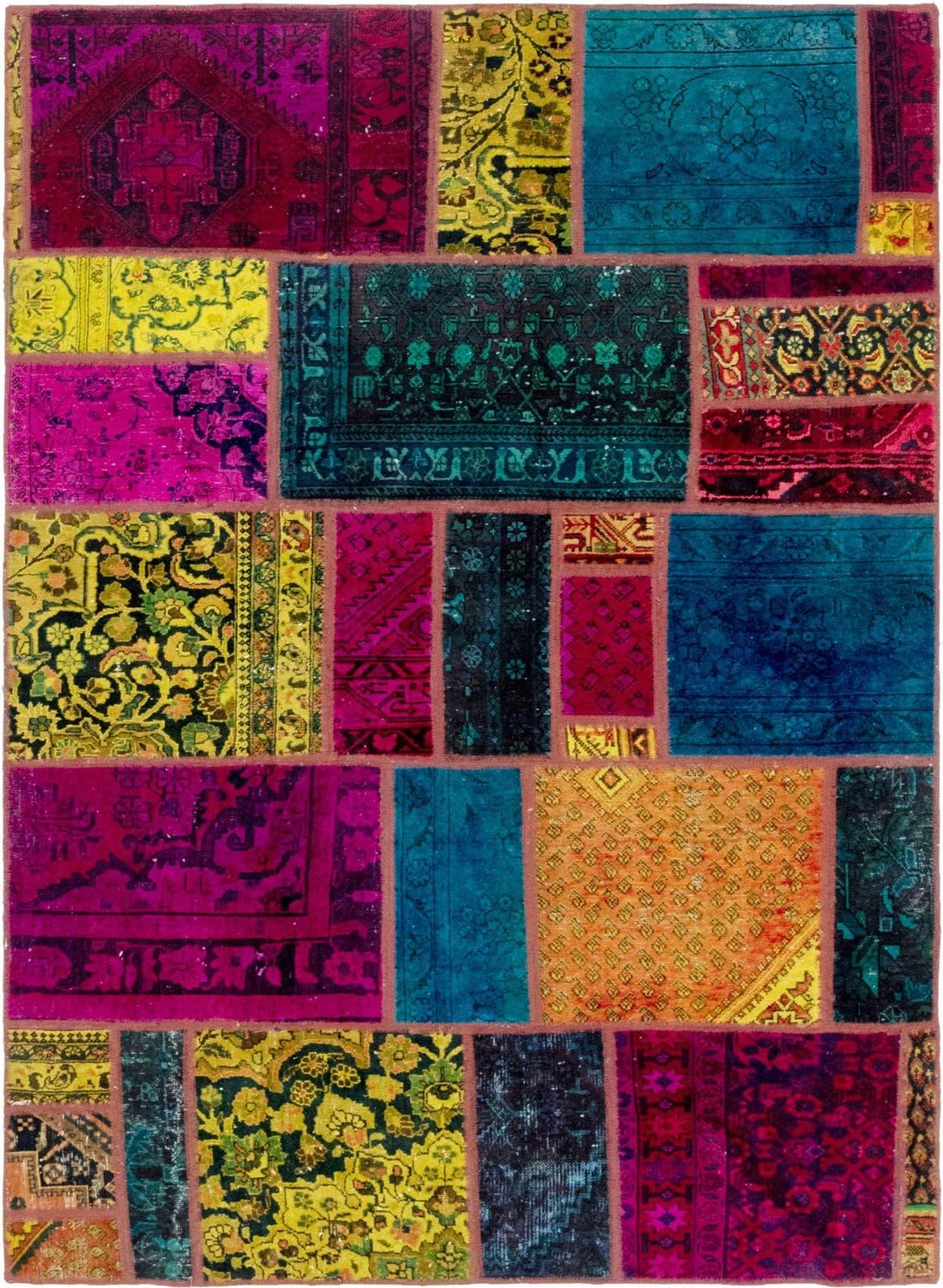 5' 6 x 8' Ultra Vintage Persian Rug main image