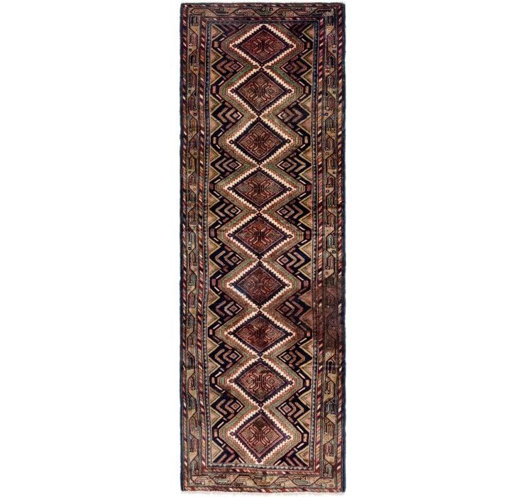 3' 4 x 11' Chenar Persian Runner Rug