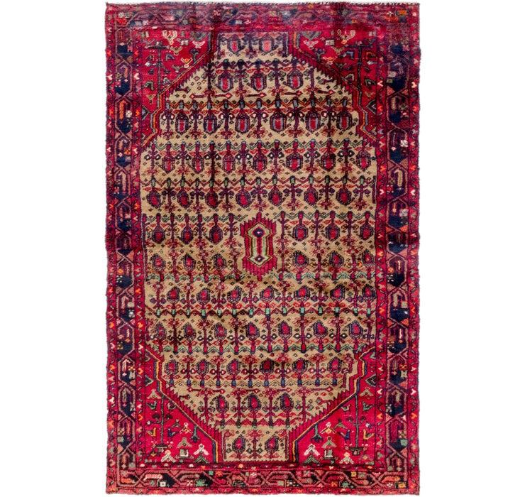 4' 7 x 7' 7 Koliaei Persian Rug