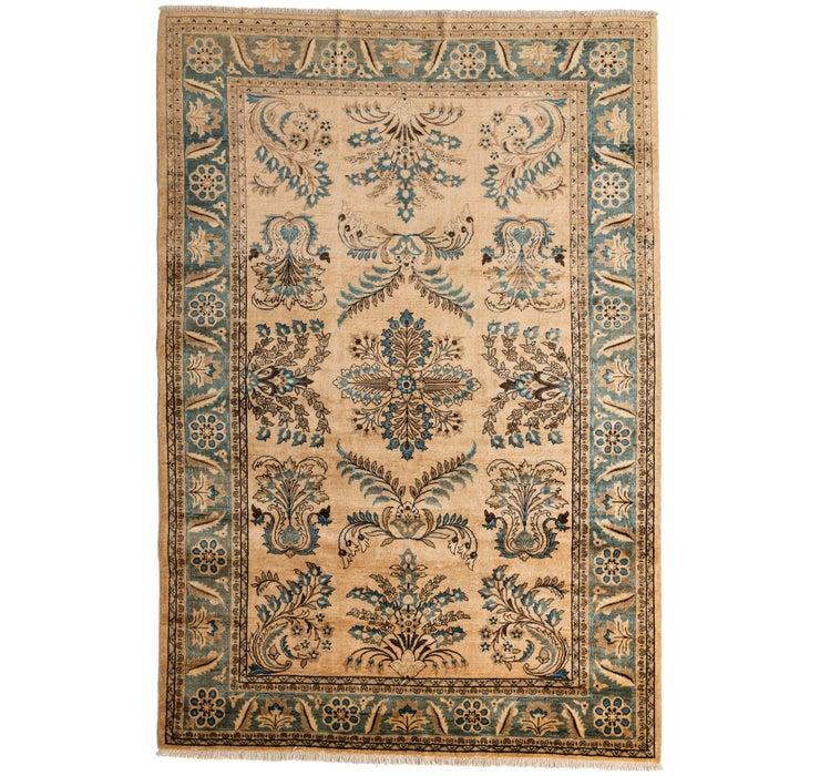 205cm x 305cm Meshkabad Persian Rug