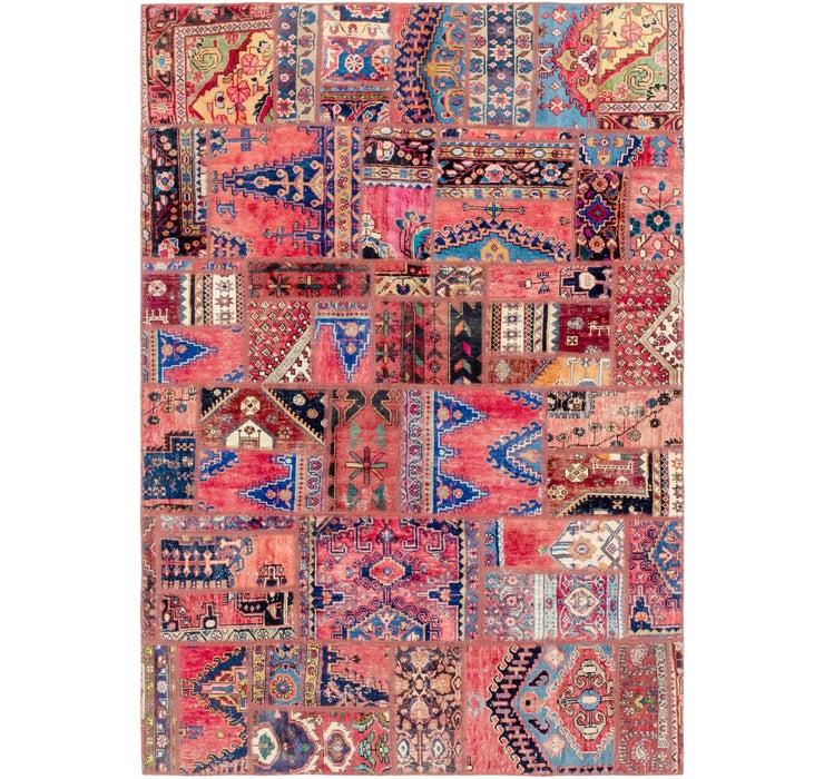 190cm x 275cm Ultra Vintage Persian Rug