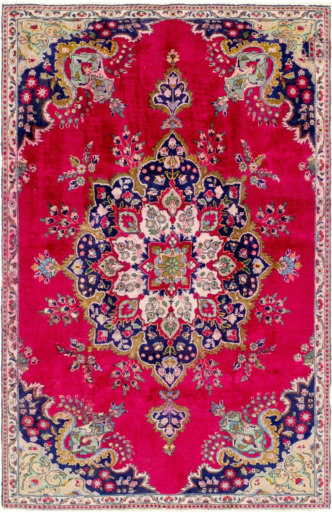 5' 4 x 8' 3 Tabriz Persian Rug main image