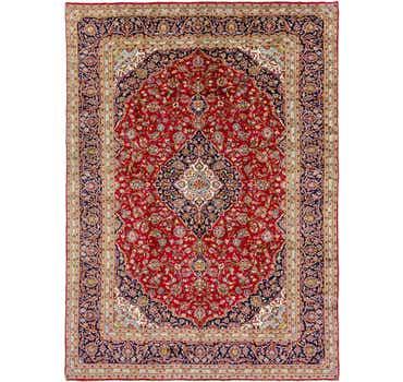 Image of  10' x 13' 7 Kashan Persian Rug