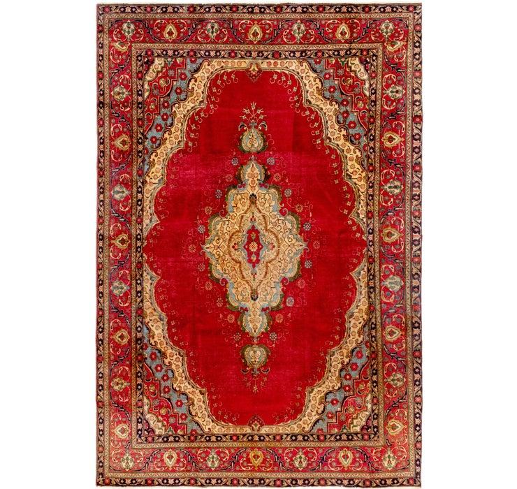 7' 10 x 11' 8 Tabriz Persian Rug