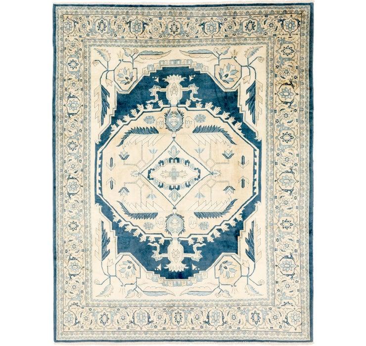 305cm x 395cm Meshkabad Persian Rug