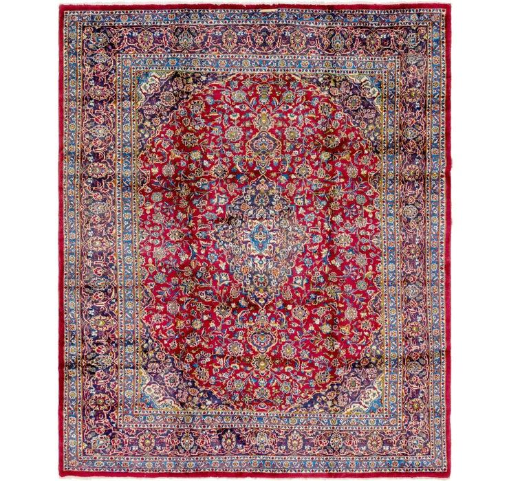 305cm x 370cm Mashad Persian Rug
