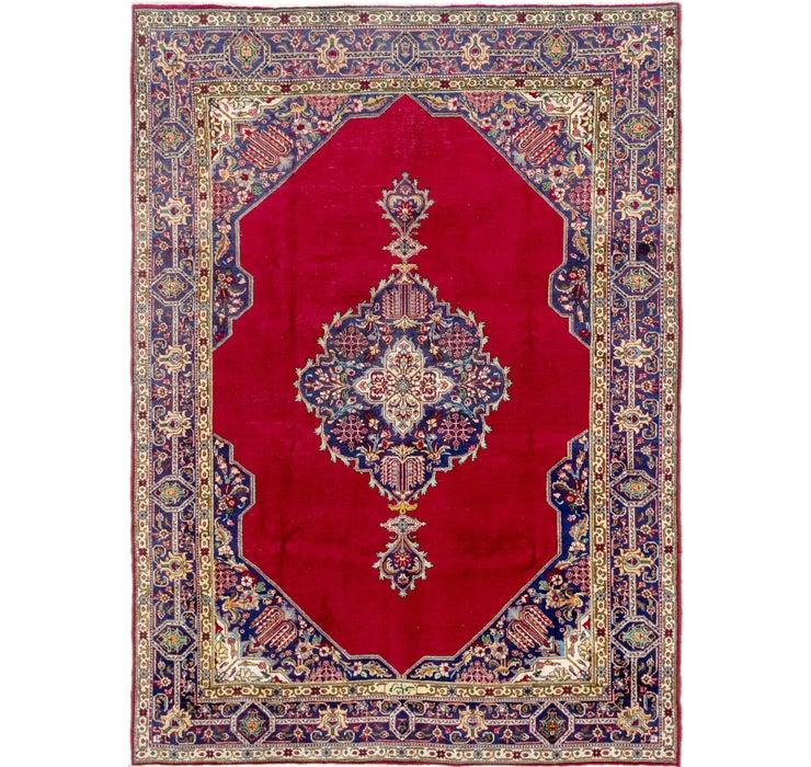 7' 7 x 10' 5 Tabriz Persian Rug