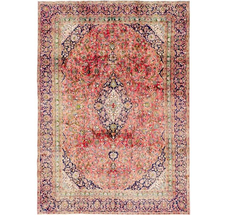 8' 8 x 12' 4 Mashad Persian Rug