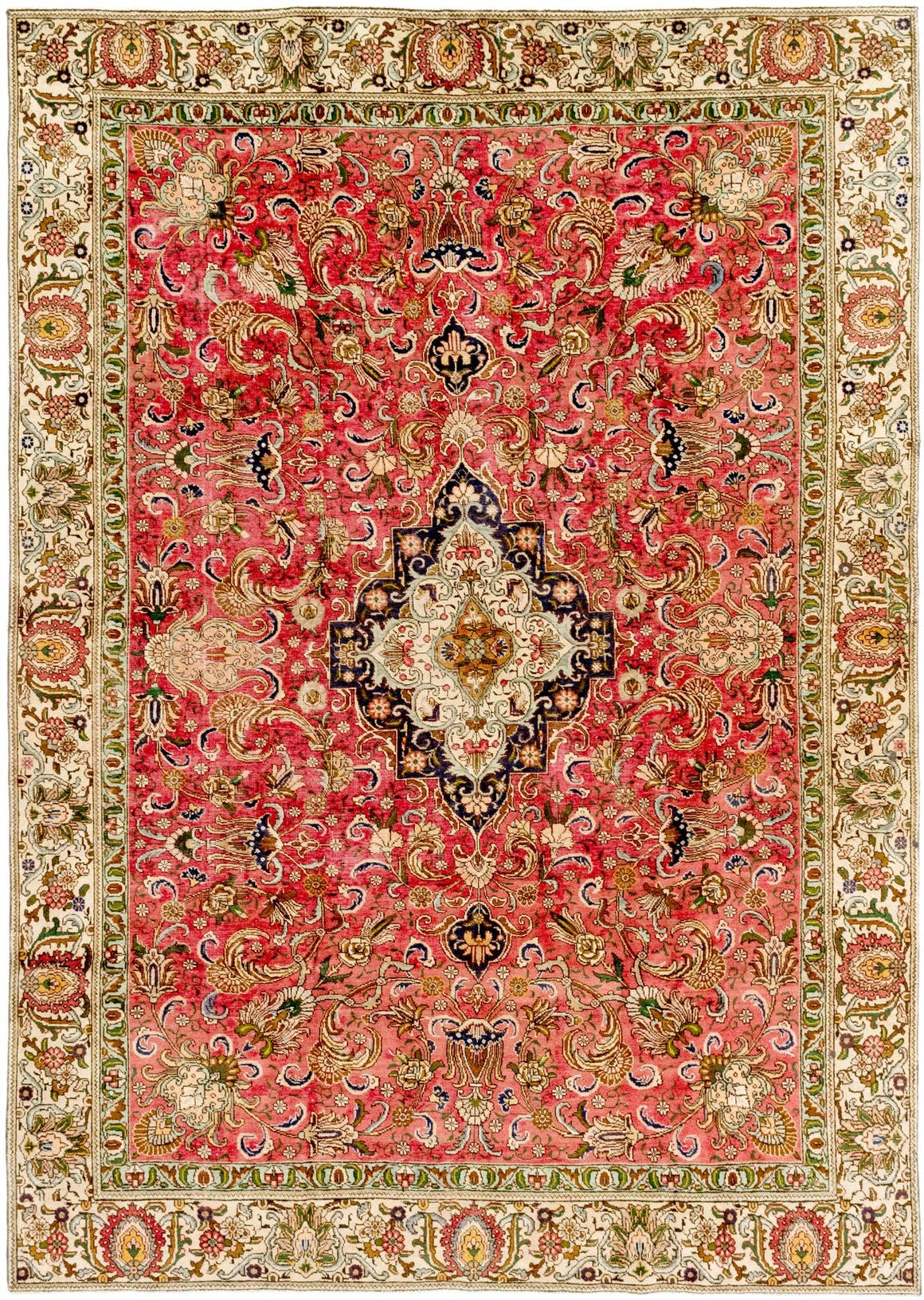 8' 8 x 12' 4 Tabriz Persian Rug main image