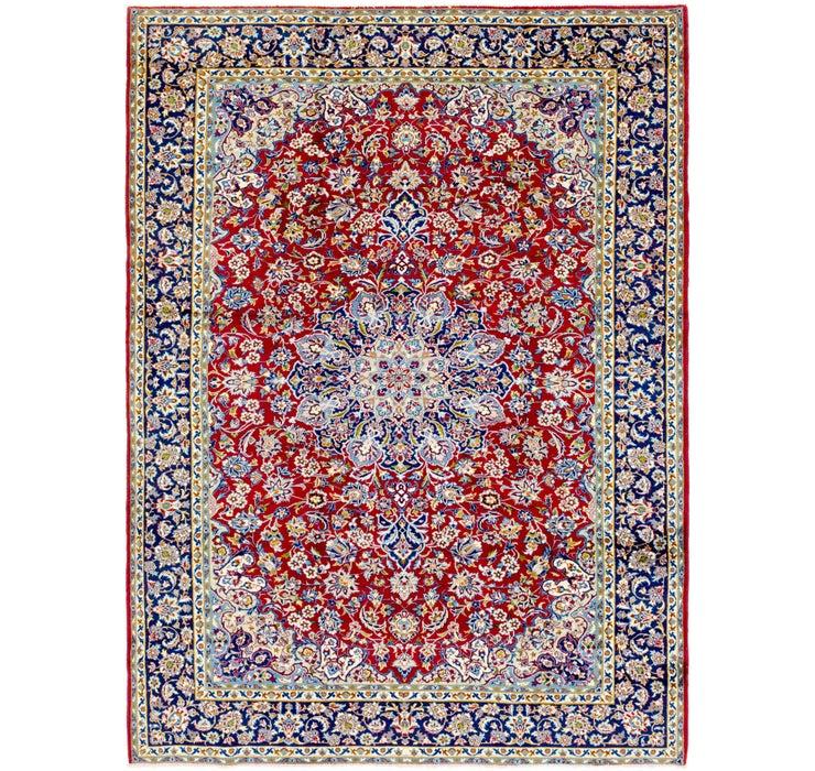 270cm x 373cm Isfahan Persian Rug