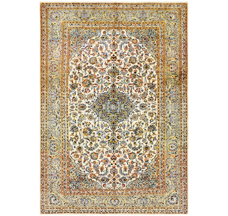 235cm x 343cm Kashan Persian Rug