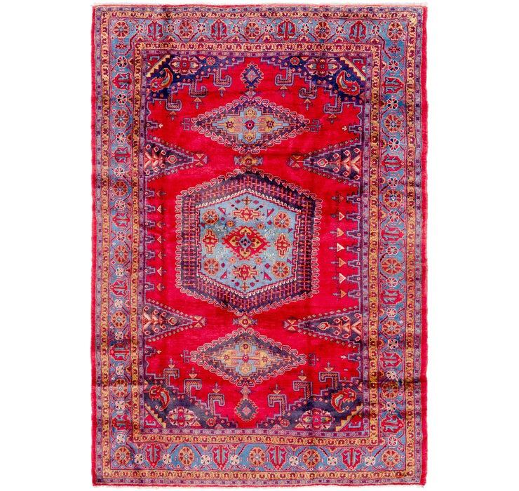 8' x 11' 7 Viss Persian Rug
