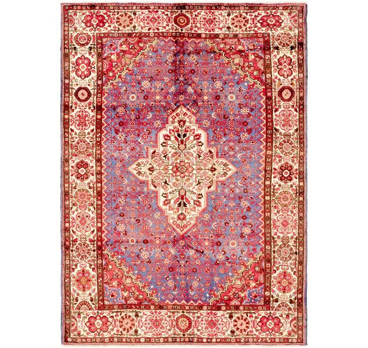 7' 2 x 10' Hossainabad Persian Rug