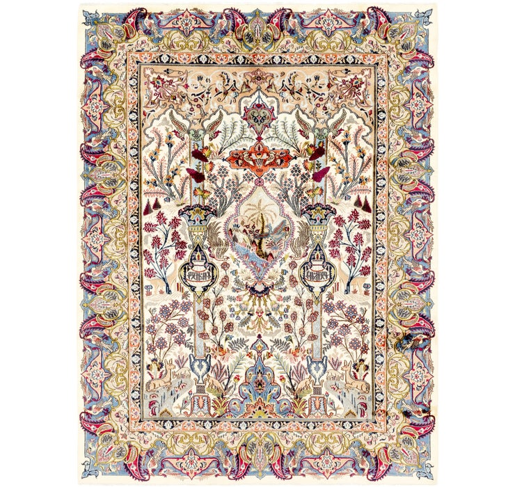 8' 2 x 11' 2 Kashmar Persian Rug