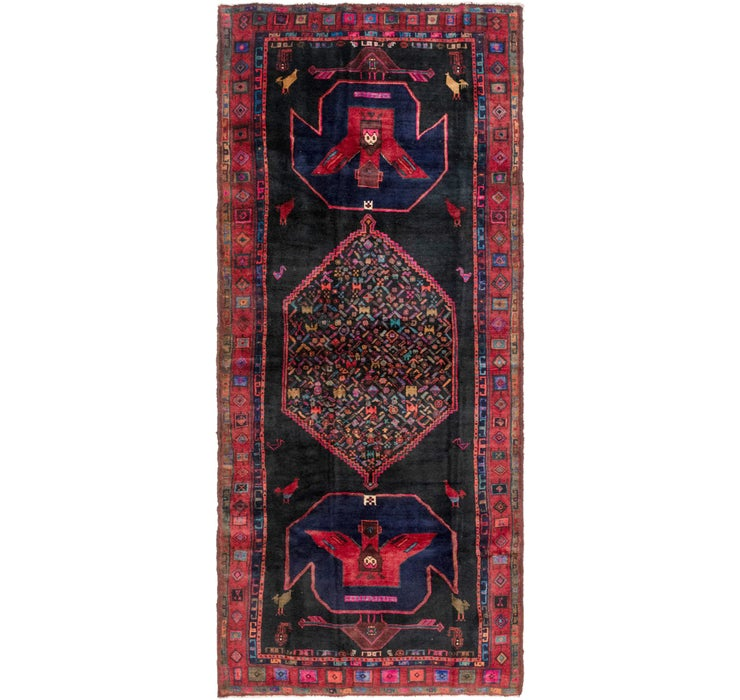 4' 7 x 11' 7 Kelardasht Persian Runn...