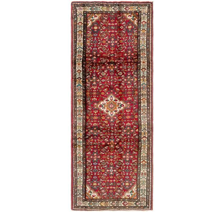 122cm x 318cm Hossainabad Persian Run...