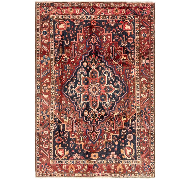 208cm x 323cm Bakhtiar Persian Rug