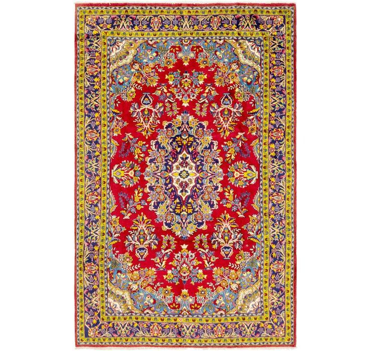 7' 2 x 11' 4 Golpayegan Persian Rug