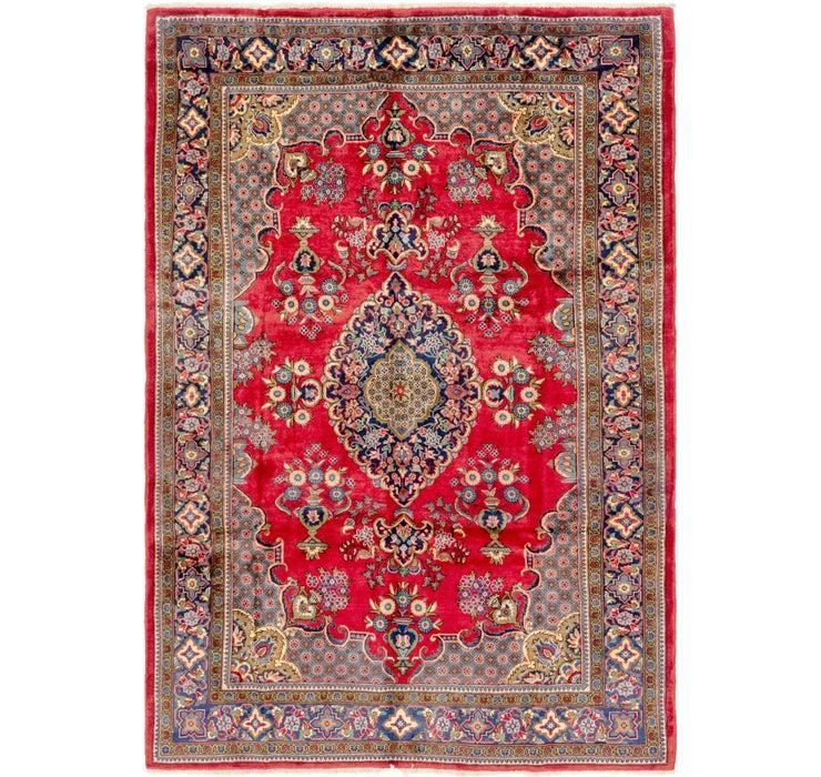 7' 2 x 11' Golpayegan Persian Rug