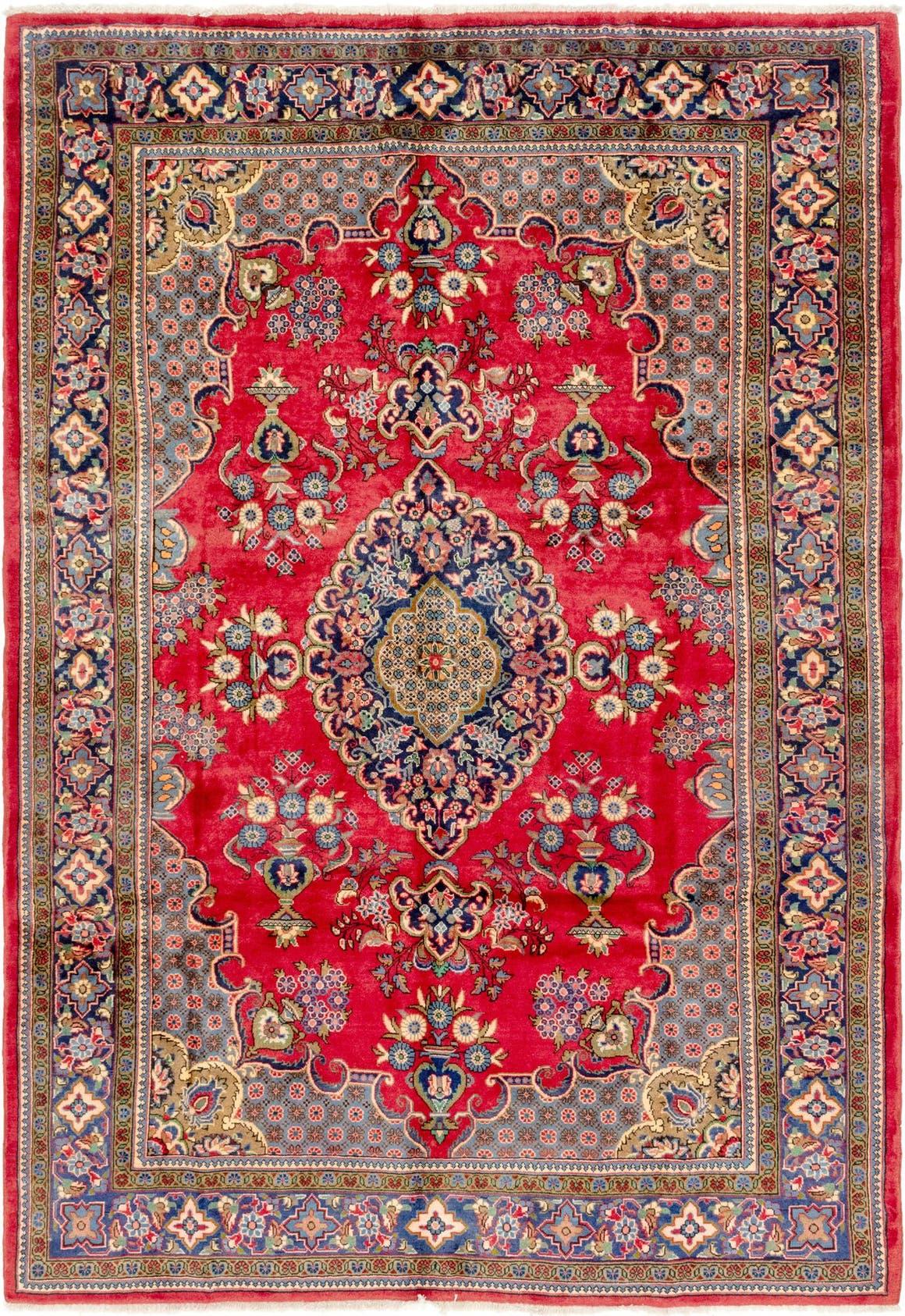 7' 2 x 11' Golpayegan Persian Rug main image