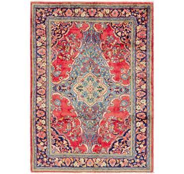 Image of 7' x 10' Farahan Persian Rug