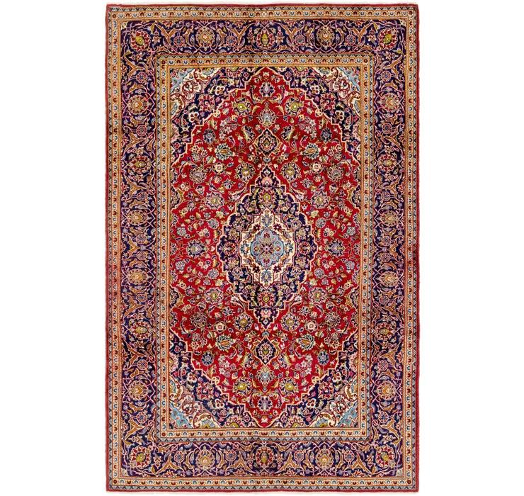 198cm x 312cm Kashan Persian Rug